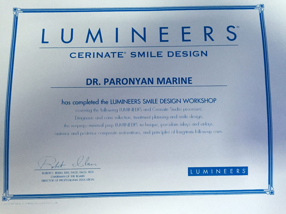 LIMINEERS® Cerinate Smile Design
