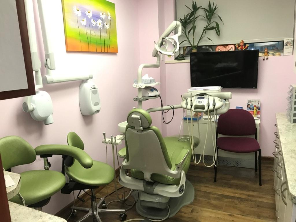 Кабинет в стоматологической клинике Дента по адресу ул. Егора Абакумова д. 10 к. 1